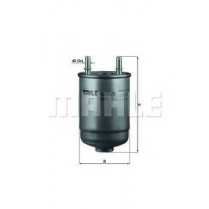 MAHLE KL485/5D Фільтр паливний