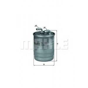 MAHLE KL490/1D Фільтр палива SPRINTER OM642/651 09>