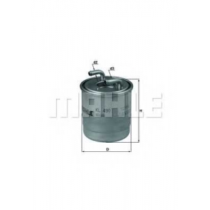 MAHLE KL490D Фильтр топлива  MB