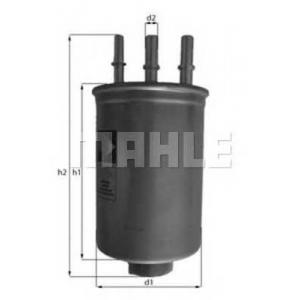 MAHLE FILTERS KL511 Фільтр паливний Mahle Ford