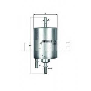 MAHLE KL571 Фильтр топлива  Audi