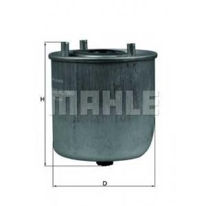 MAHLE FILTERS KL780 Фільтр паливний Mahle FORD C-MAX,FIESTA, FOCUS III VI 1,5-1,6 TDCI