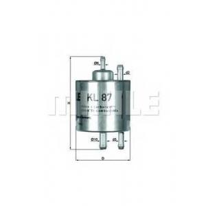 MAHLE KL87 Фильтр топлива  Daimler