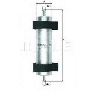 MAHLE FILTERS KL916 Фільтр паливний Mahle Audi Q5 2.0-3.0TDI 2012-