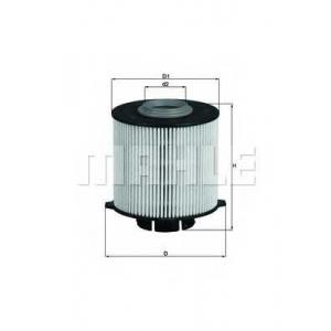 MAHLE FILTERS KX265D Фільтр паливний Mahle Opel