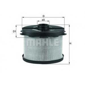 kx84d mahle Топливный фильтр PEUGEOT PARTNER фургон 1.9 D