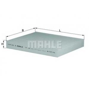la100 mahle Фильтр, воздух во внутренном пространстве HONDA CIVIC Наклонная задняя часть 1.4 L (EC9)