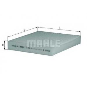 MAHLE FILTERS LA155 Фільтр салону Mahle Honda