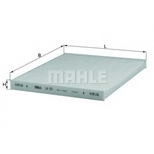 MAHLE FILTERS LA157 Фільтр салону Mahle Toyota