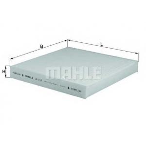 MAHLE FILTERS LA216 Фільтр салону Mahle Honda