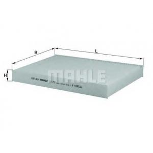 MAHLE FILTERS LA290 Фільтр салону Mahle Nissan
