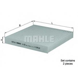 MAHLE FILTERS LA630/S Фільтр салону Mahle BMW