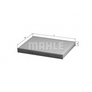 la93 mahle Фильтр, воздух во внутренном пространстве AUDI A6 седан 1.8 T