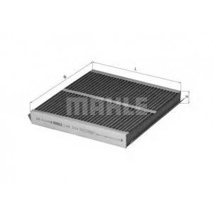 MAHLE FILTERS LAK234 Фільтр салону Mahle BMW