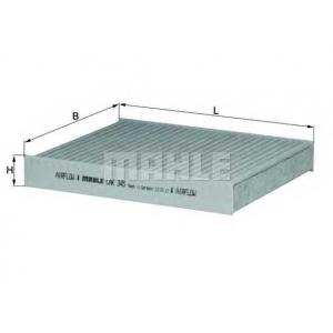 MAHLE FILTERS LAK345 Фільтр салону Mahle Subaru