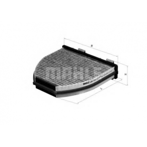 MAHLE FILTERS LAK413 Фільтр салону Mahle Daimler