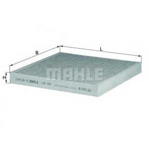 MAHLE FILTERS LAK430 Фільтр салону Mahle SMART