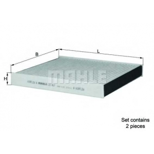 MAHLE FILTERS LAK467/S Фільтр салону Mahle BMW 7 F01, F02