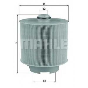 MAHLE LX1006/2D Фильтр воздушный  Audi