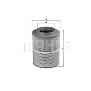 MAHLE LX1072 Air filter