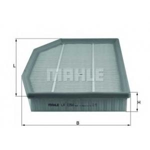 MAHLE FILTERS LX1250 Фільтр повітряний Mahle BMW