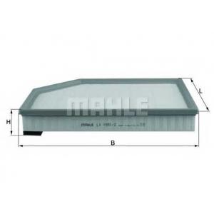 MAHLE LX1591/2 Фільтр повітряний