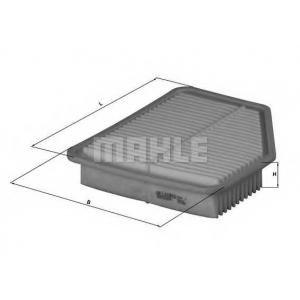 MAHLE FILTERS LX1613 Фільтр повітряний Mahle Lexus GS300, GS450h, SC430