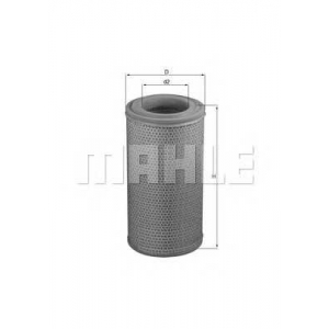 MAHLE LX1629 Air filter