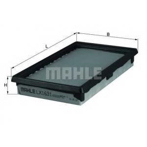 MAHLE FILTERS LX1631