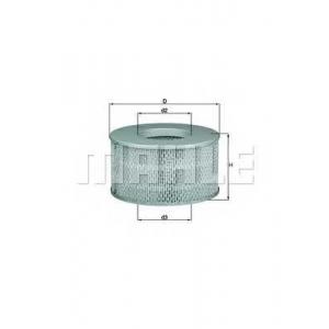MAHLE LX 1641 Фильтр воздушный Toyota