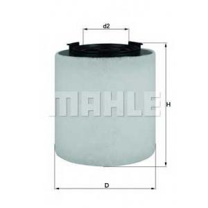 MAHLE LX2831 Фильтр воздушный  Seat, VW