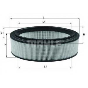 lx2844 mahle Воздушный фильтр DACIA LOGAN пикап 1.4