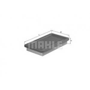 MAHLE FILTERS LX542 Фільтр повітряний Mahle Mazda