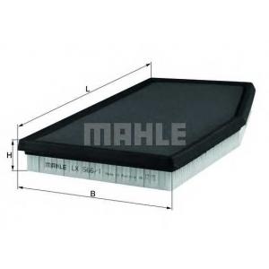 MAHLE FILTERS LX566/1