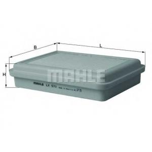 MAHLE FILTERS LX570 Фільтр повітряний Mahle Daihatsu
