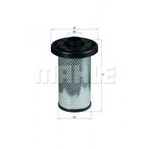 MAHLE LX 576 Фильтр воздушный Mahle