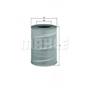 MAHLE LX666 Air filter