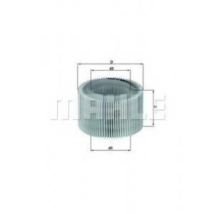 MAHLE LX718 Air filter
