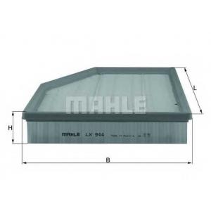 MAHLE FILTERS LX944 Фільтр повітряний Mahle BMW
