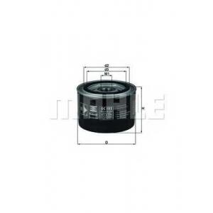 MAHLE OC102 Фильтр масла  Opel