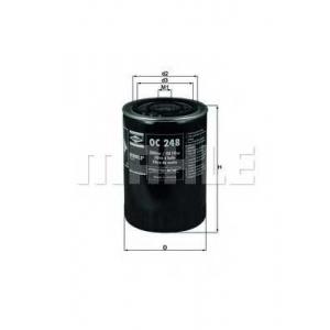 MAHLE ORIGINAL OC 248 Фильтр масляный 8140.43 ->11/04 /S8U/S9W (3/4-16\ d=93mm h=141mm 2 резинки)