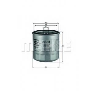 MAHLE OC265 Фильтр масла  Isuzu, Rover Grp.