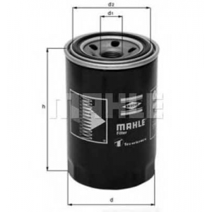 MAHLE FILTERS OC273 Фільтр масляний Mahle Ford, Nissan