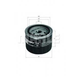 MAHLE ORIGINAL OC 384 Фильтр масляный