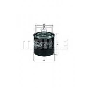 oc500 mahle Масляный фильтр HYUNDAI ix20 Наклонная задняя часть 1.4
