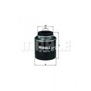 MAHLE OC593/4 Фильтр масла  VW