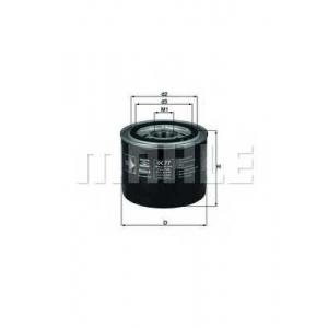 MAHLE FILTERS OC77 Фільтр масляний Mahle Honda