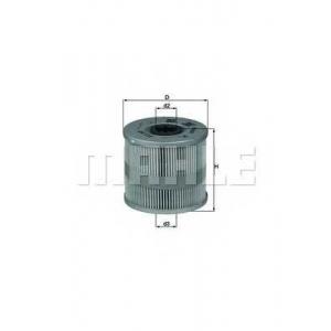 MAHLE OX122D Фильтр масла  Audi