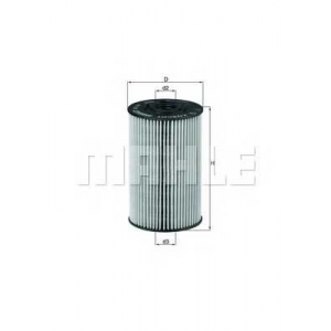 MAHLE FILTERS OX150D
