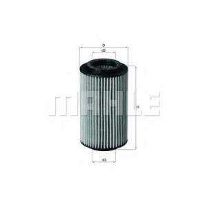 MAHLE OX153/7D фильтр